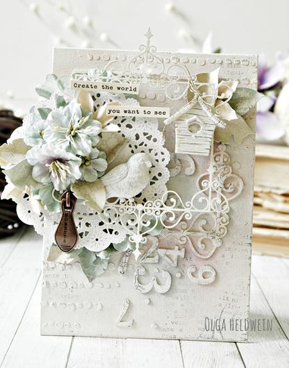 Shabby Chic wedding invitation idea, made by Old Heldwein ...