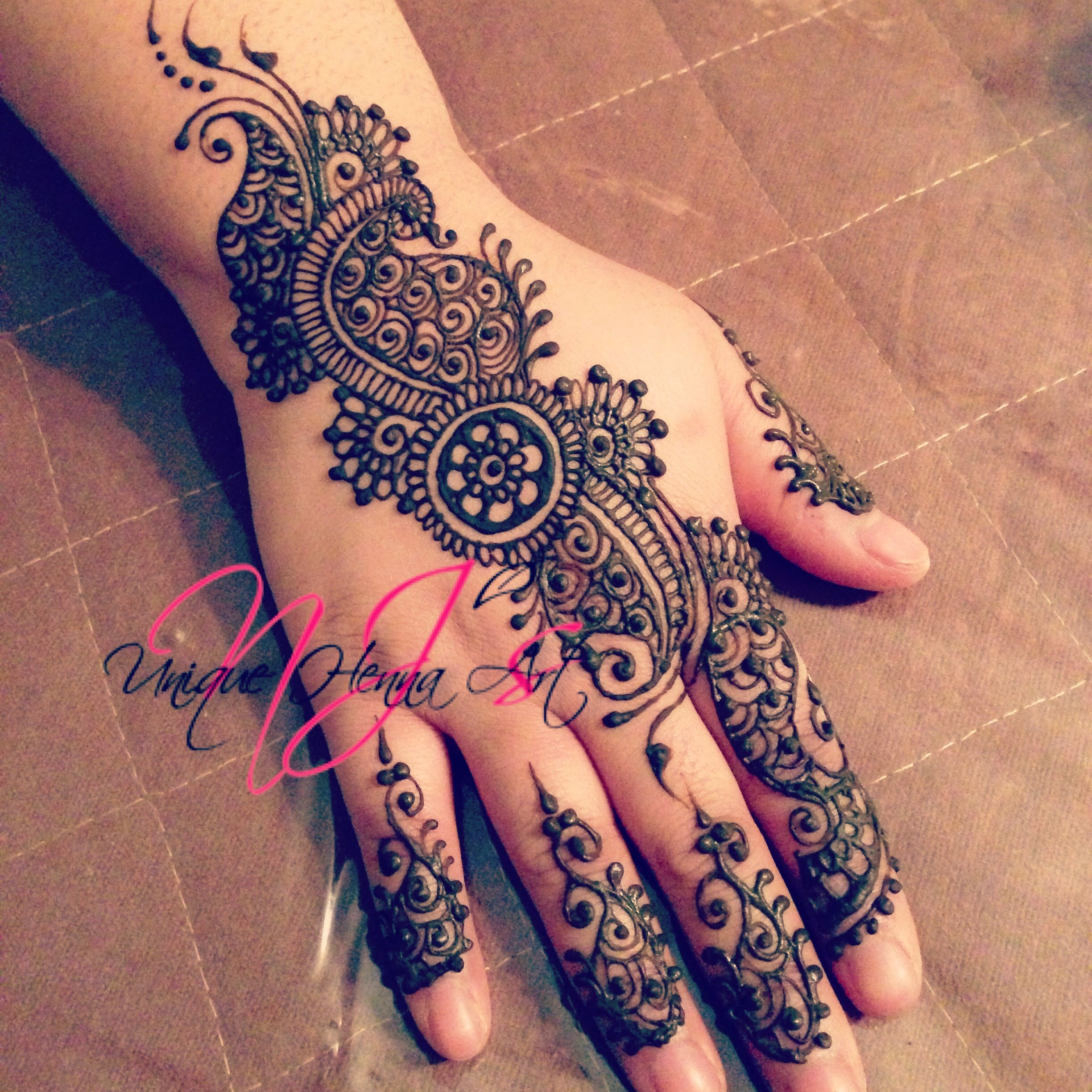 13 Unique Henna Designs Doing The Rounds This Wessing: Unique Henna Tattoos - Google Search