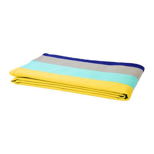 High Quality 100 Cotton Tablecloth Multicolour Striped