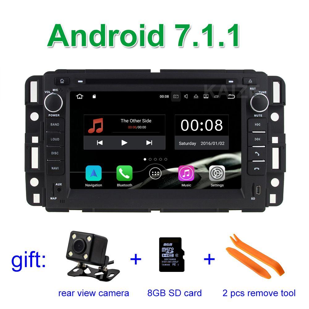 2gb Ram Android 7 1 1 Car Dvd Player For Gmc Yukon Denali Acadia