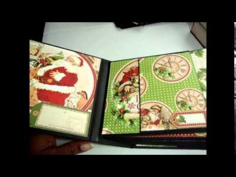 g45 twas the night before christmas mini album youtube - Twas The Night Before Christmas Youtube