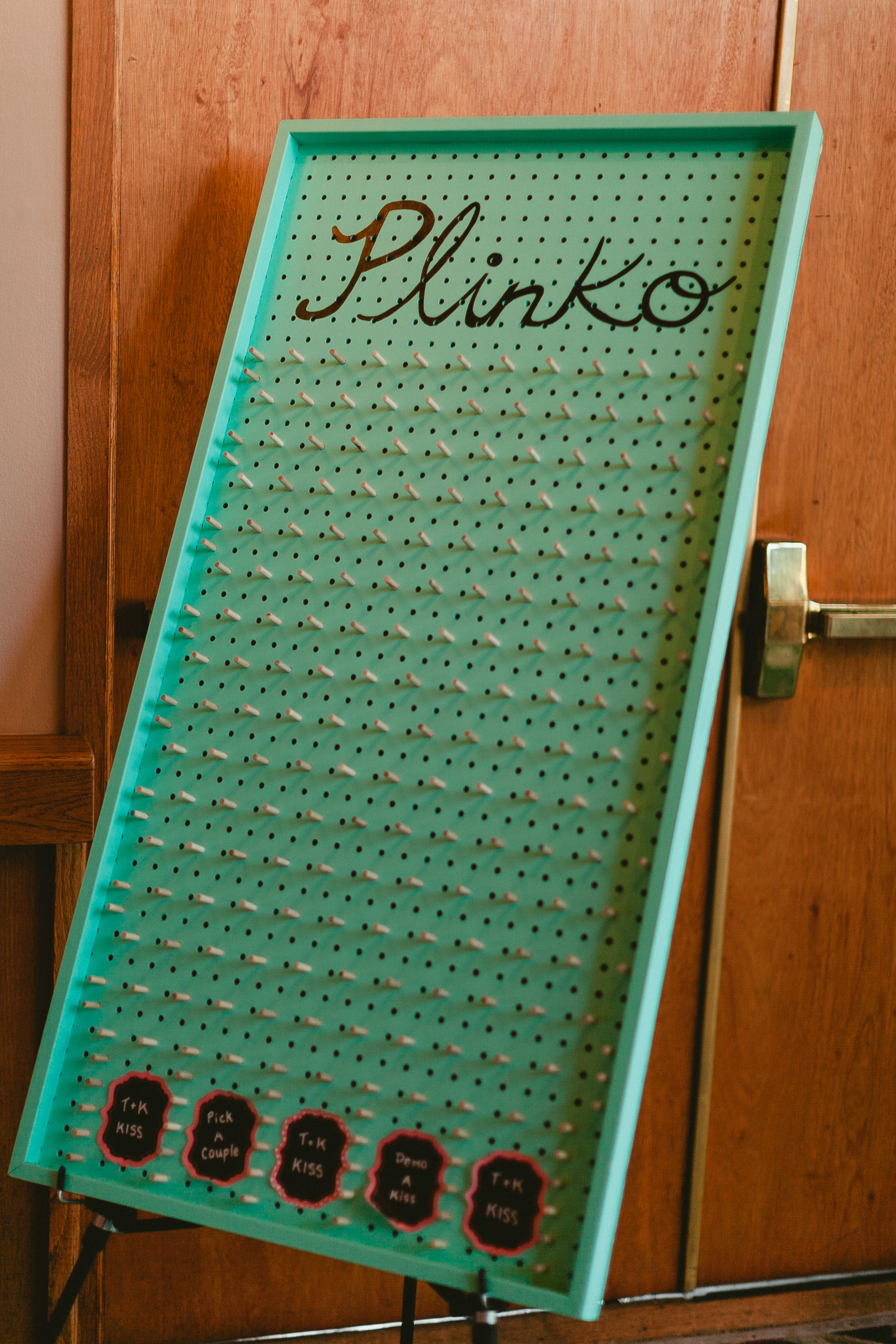 Wedding Kissing Game Plinko Photo By M Him With Images