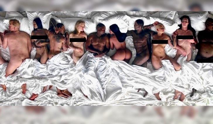 Polémica: Kanye West lanza video que expone desnudos a Taylor Swift Donald Trump y otros famosos