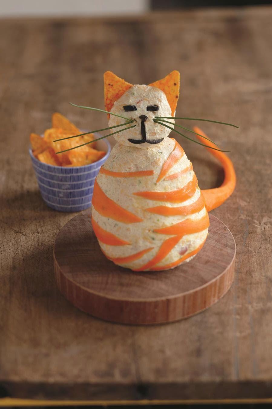 Nacho Cat Cheese Ball, by Michelle Buffardi
