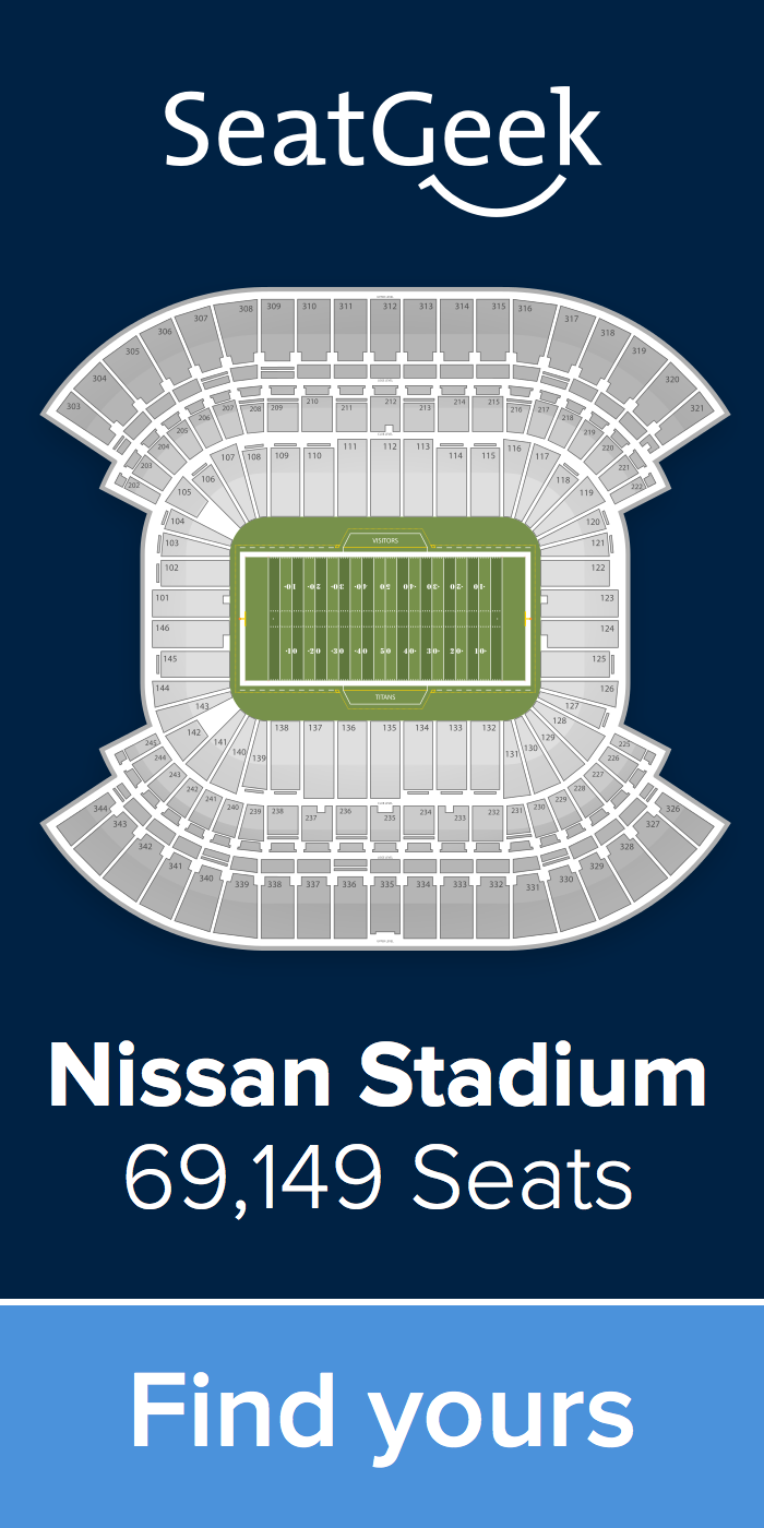 The Best Deals For Titans Tickets Are On Seatgeek Tennessee Titans Nfl Tickets Nfl Stadiums