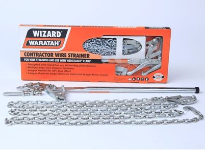 Wizard Contractor Wire Strainer Fencing Tools Tools Accessories Waratah Fencing Tools Farm Fence Fence