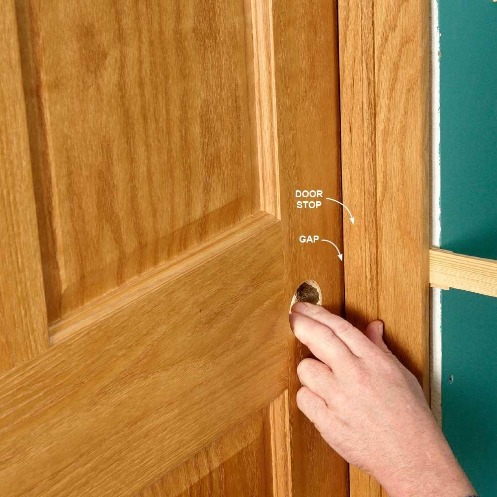 How To Hang An Interior Door Interior door installation