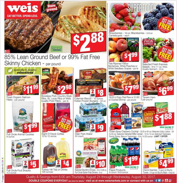 Weis Markets Circular August      HttpWwwOlcatalog