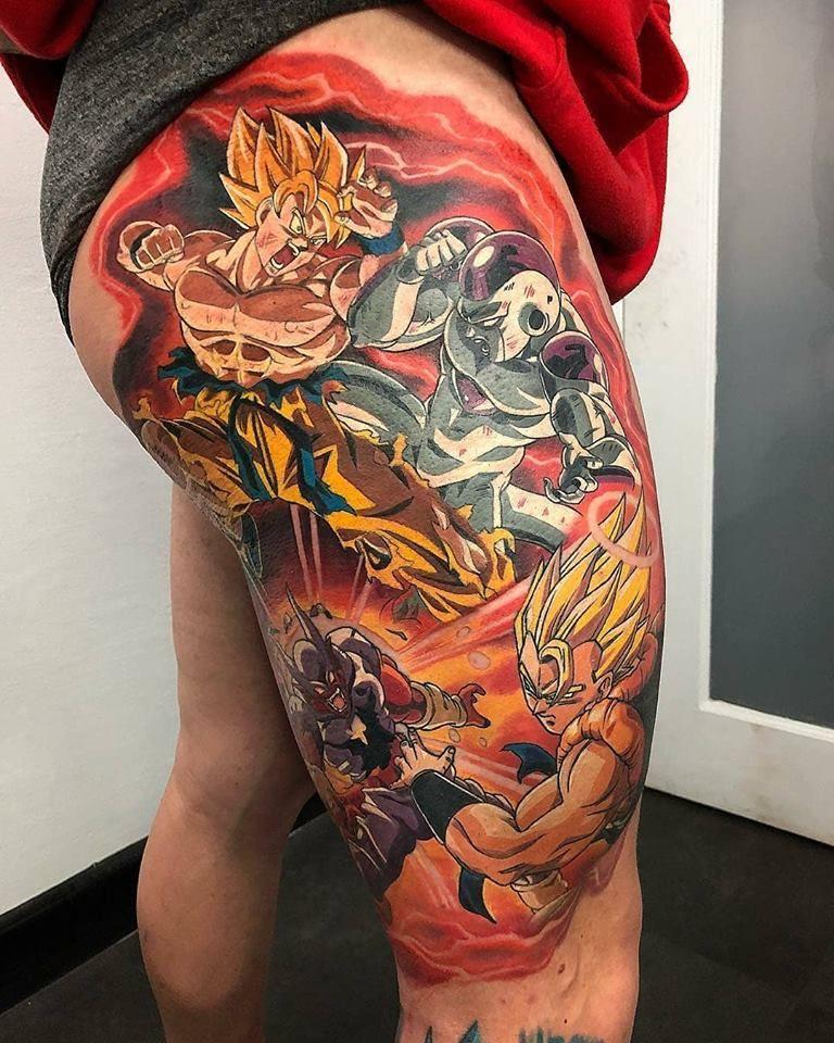 dragon ball z tattoosry tattoomiester | tatoo dragon ball jermy