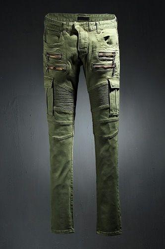 Cargo Camo Custom Biker Jeans | Jeans | Biker jeans, Khaki