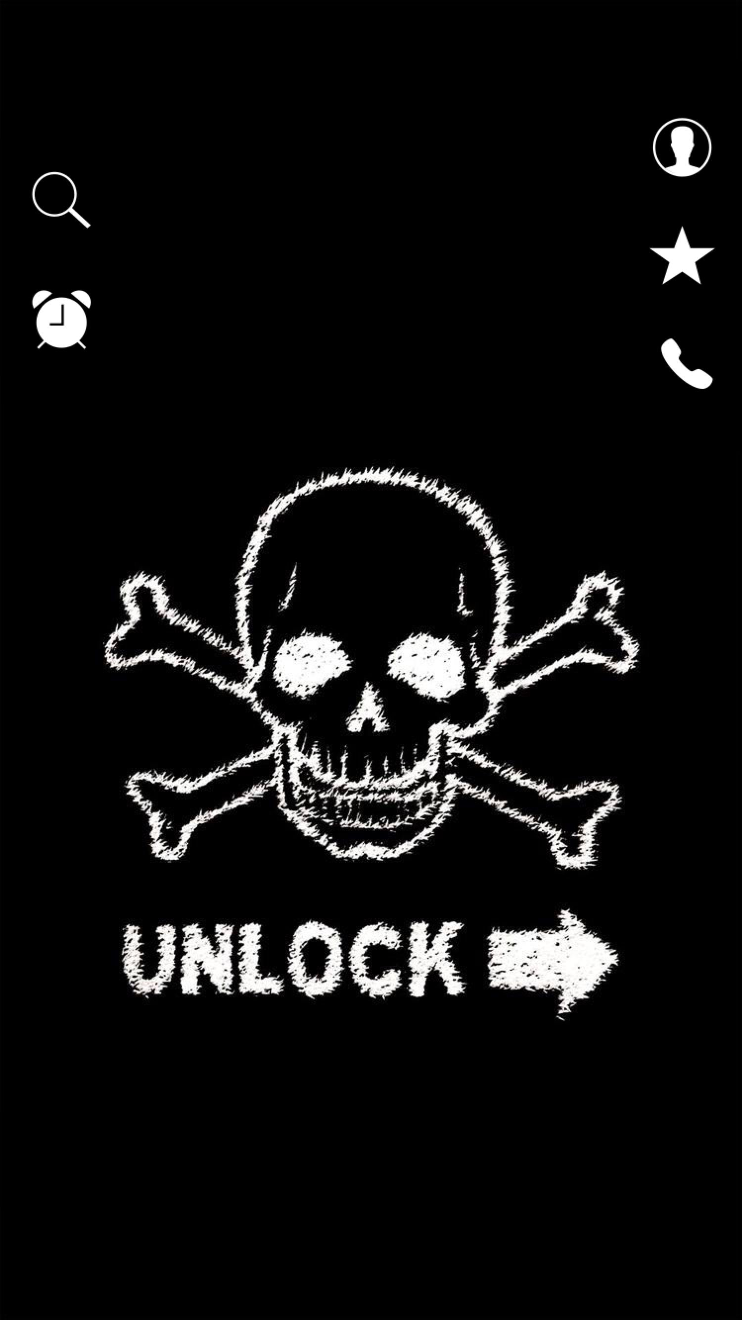 TAP AND GET THE FREE APP! Lockscreens Art Creative Skull