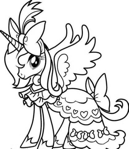 Rainbow Unicorn Coloring Page Clipart Panda Free Clipart