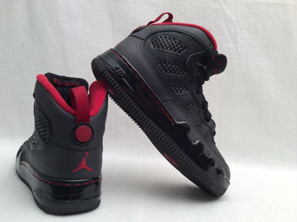 Red Sz Youth Jordan Air Black Shoes 6y About Basketball Details eCBWxord