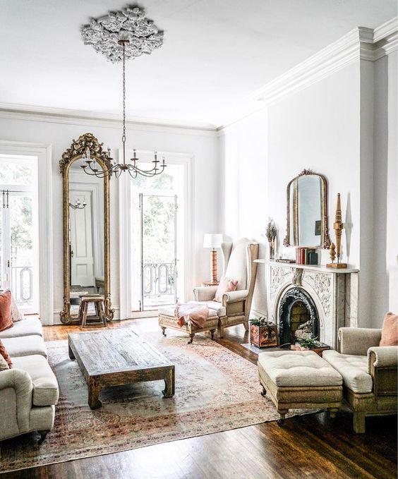 16 Stunning French Style Living Room Ideas: QueenOfEft °₊‧ Fav Living Room