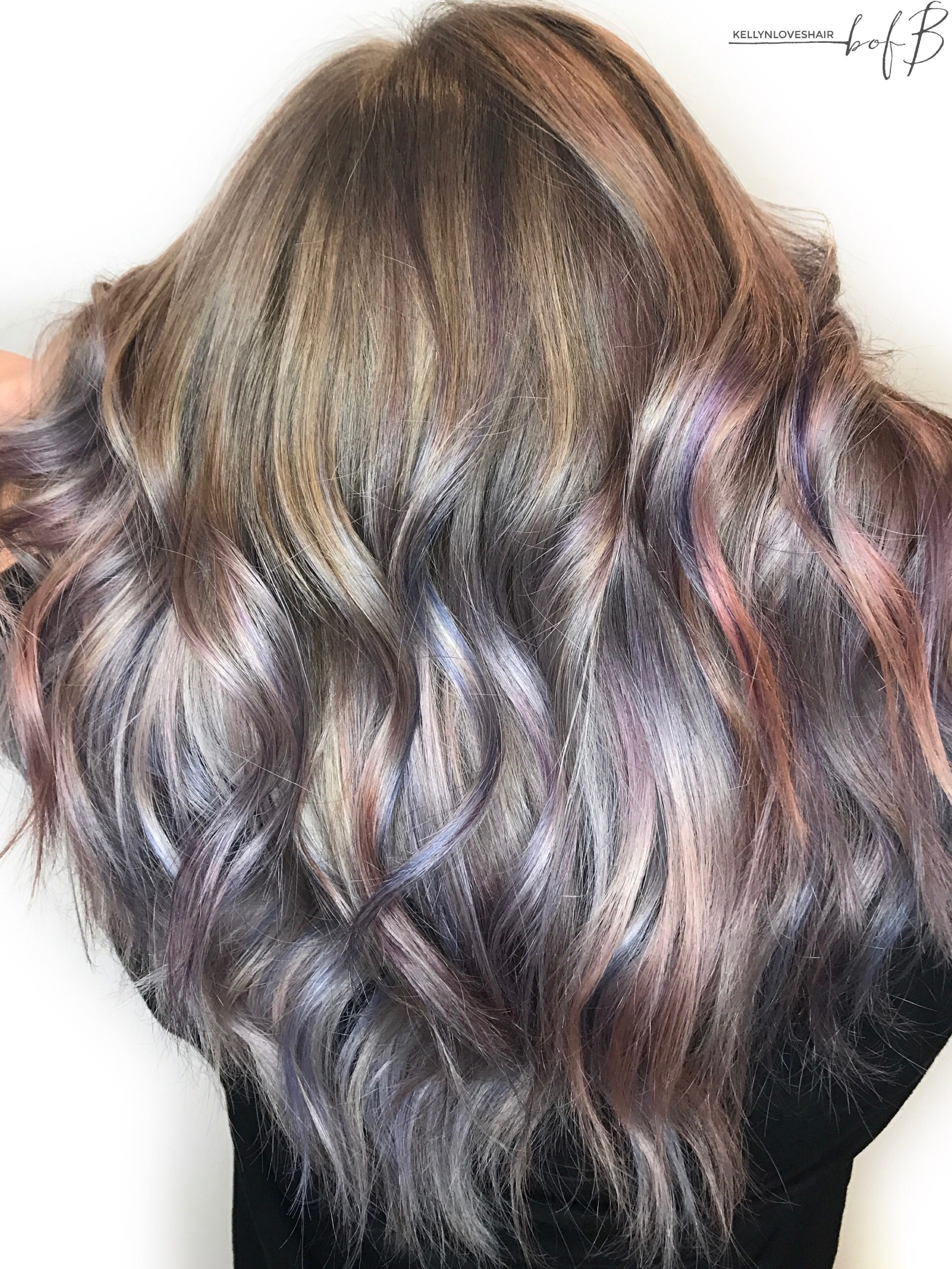 Art color hair - Metallic Hair Color