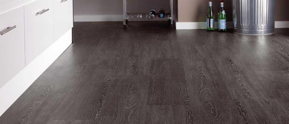 Wp414 Argen Dark Grey Wood Effect Flooring Karndean