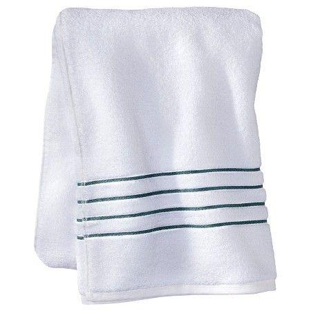 fieldcrest® luxury stripe accent bath towels | gold bar