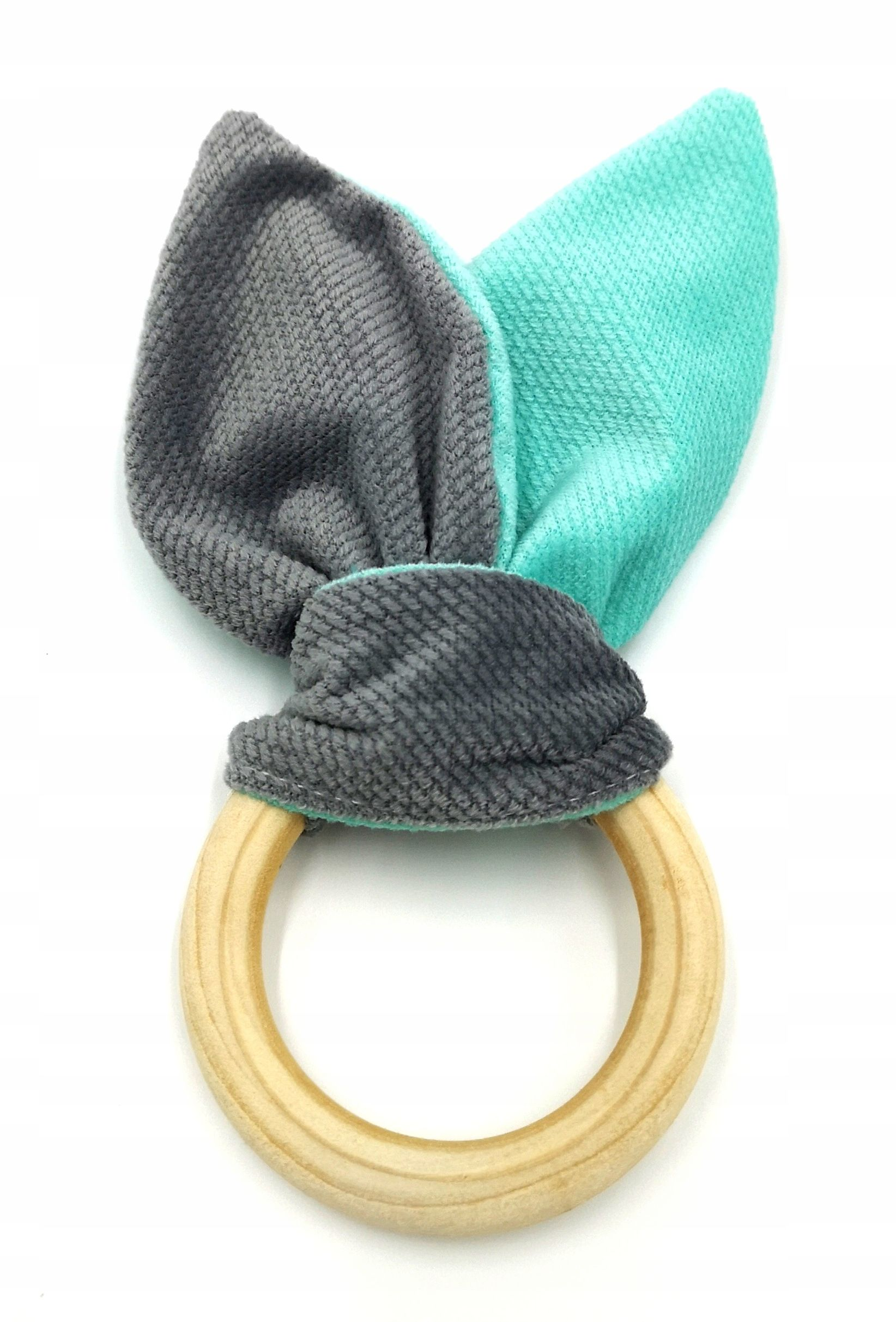 Lilo Gryzak Drewniany Velvet Zabawka Sensor Kolory Velvet Lilo Handmade