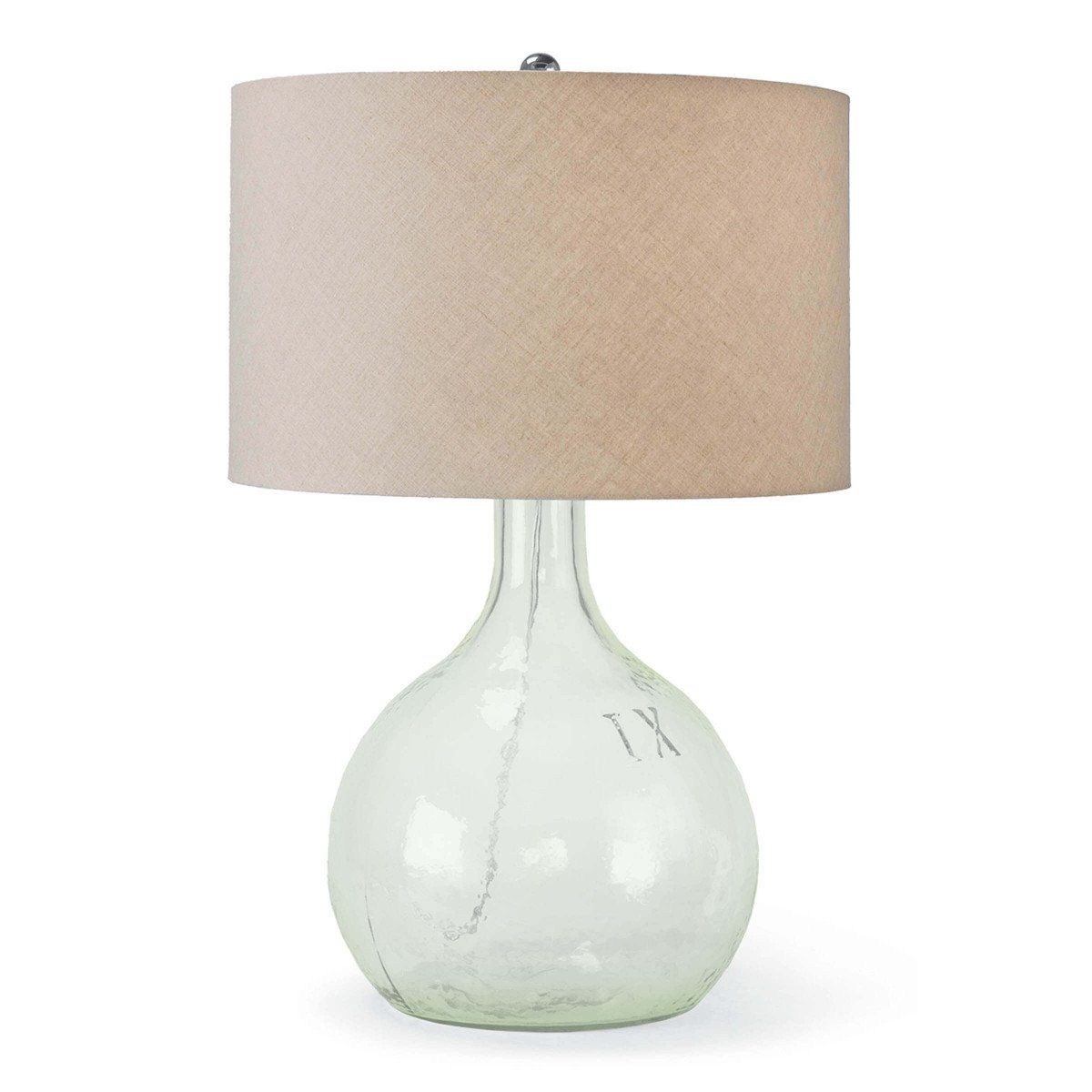 King Nine Lamp In 2020 Lamp Table Lamp Transitional Table Lamps