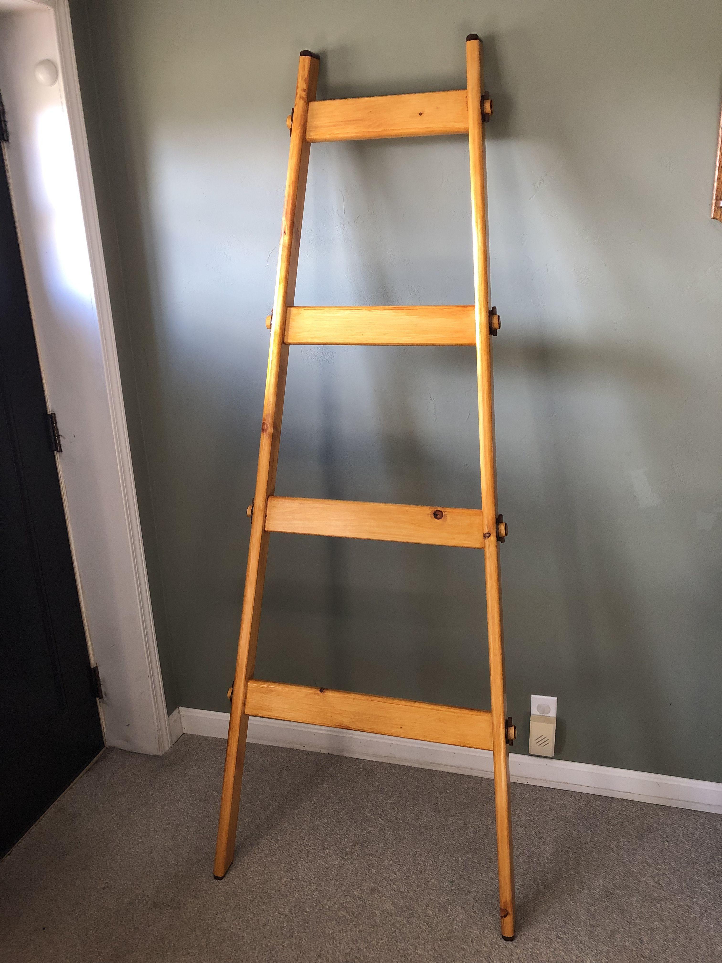 Blanket Ladder (With images) Blanket ladder, Ladder, Wood