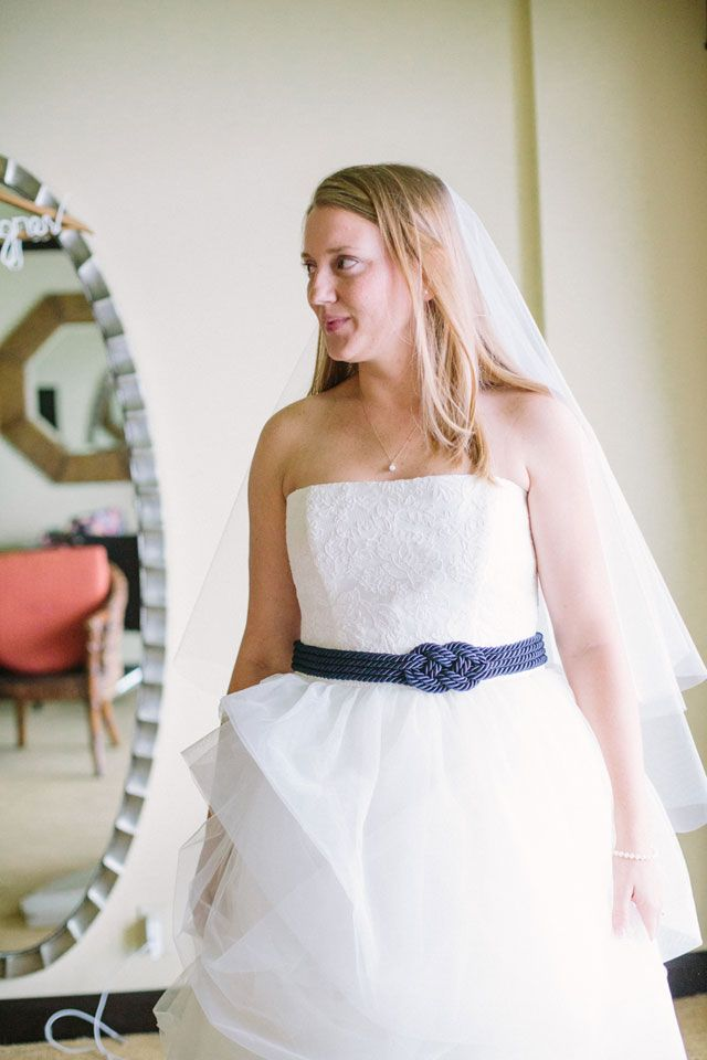 Navy Blue Nautical Wedding Artfully Wed Wedding Blog Nautical Wedding Dresses Blue Nautical Wedding Nautical Wedding