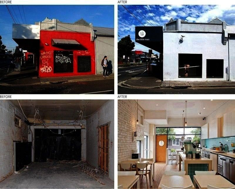 Old Vacant Post Office Transformed Into A Cafe WALA aka Weian Lim Architects have transformed a vacant rundown old post office into The Little Man Cafe a bright nbsp hell...