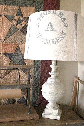 Vintage Inspiration 81 Looks Like Spring Farmhouse Lampshade Farmhouse Lamps Lamp Shades