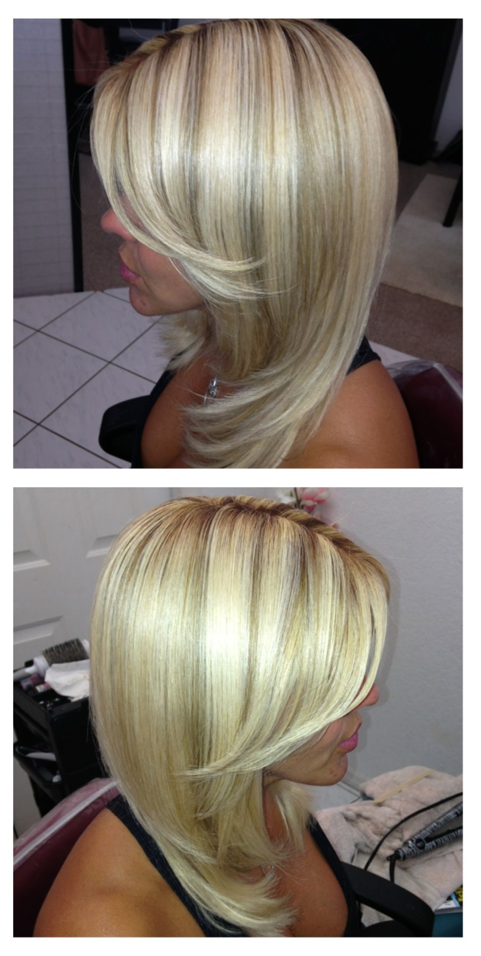 Platinum Blonde With Lowlights For Fall Your Fall Color