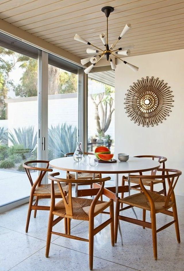 Vibrant Vignettes // Round Dining Table Amazing Design