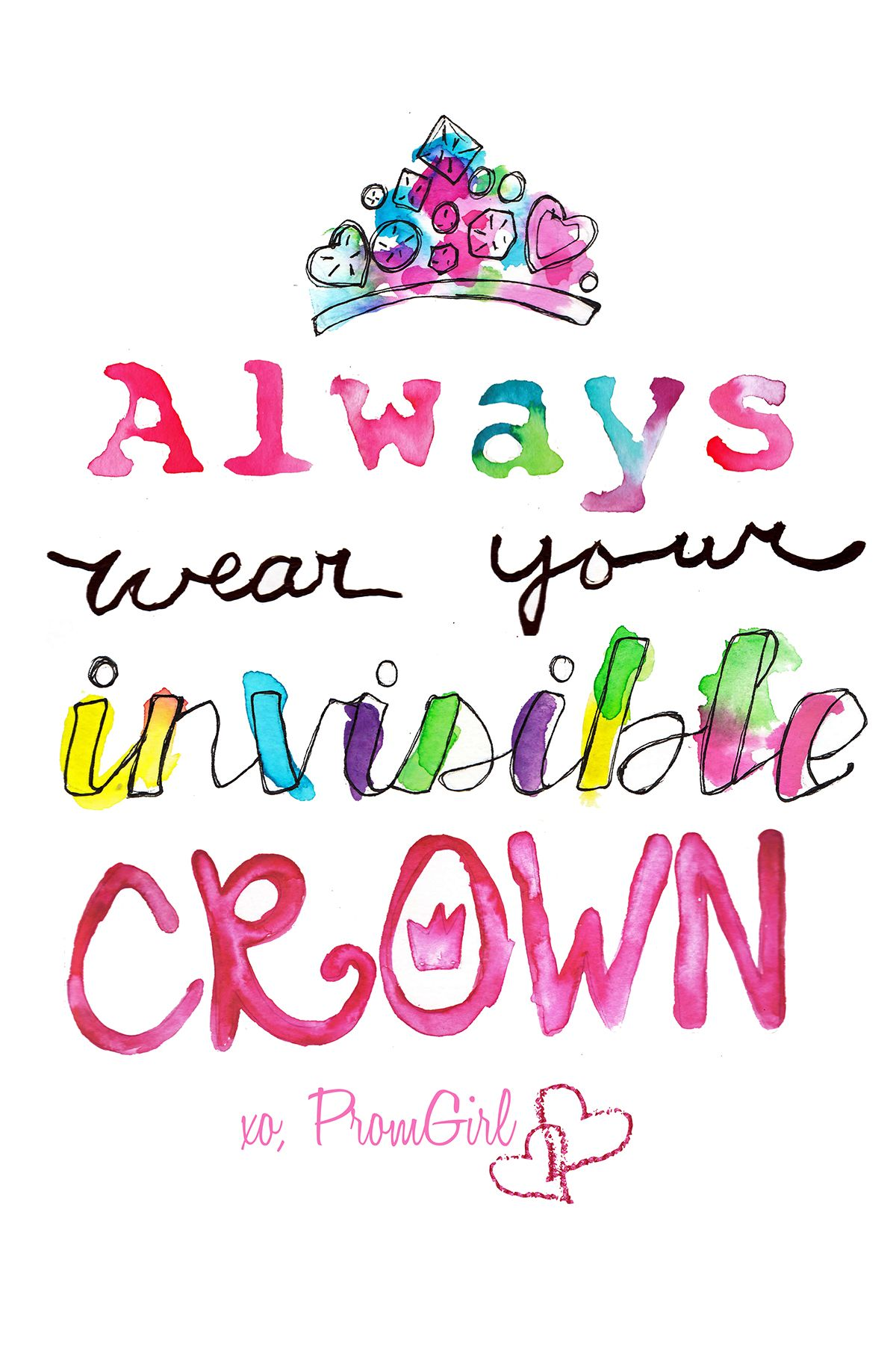 Promgirl247 Motto Crown Quotes Wonder Quotes Inspirational Words