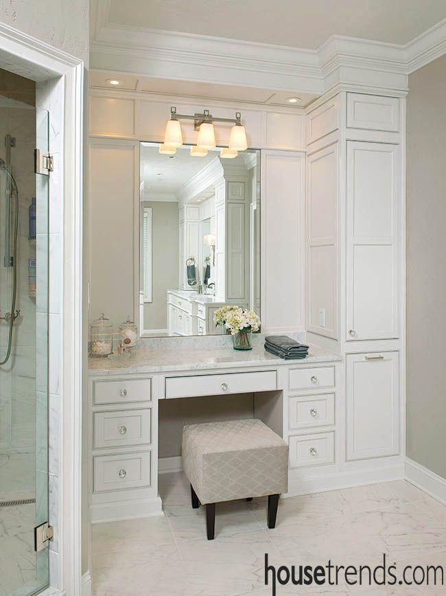 Bathroom Makeup Vanity Ideas Beautiful Bathroom With Makeup Vanity Ideas Offer The Perfect Cheap Bathroom Remodel Bathrooms Remodel Bathroom With Makeup Vanity