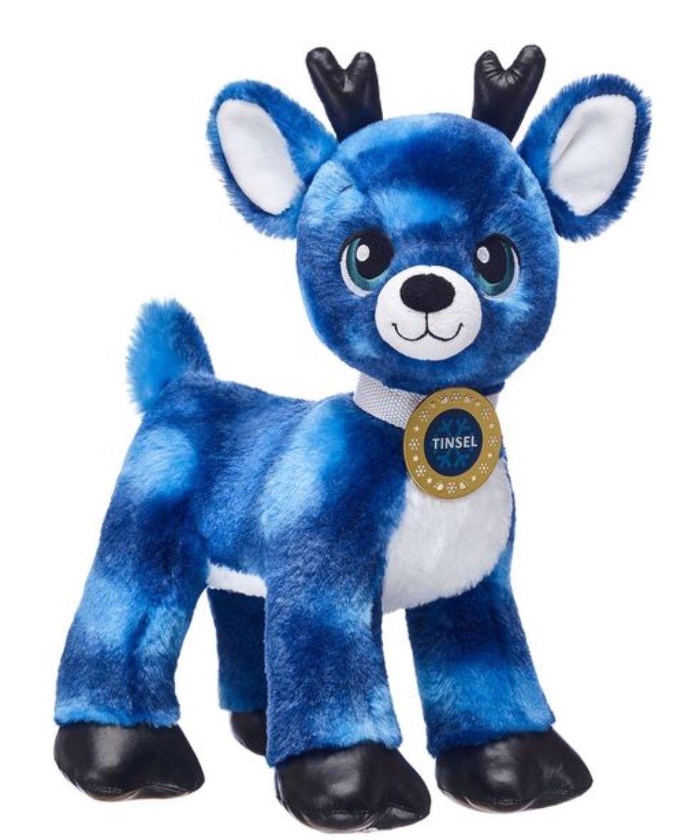 Build A Bear Tinsel Reindeer 2027 Build A Bear Reindeer Teddy Bear Cartoon Build A Bear