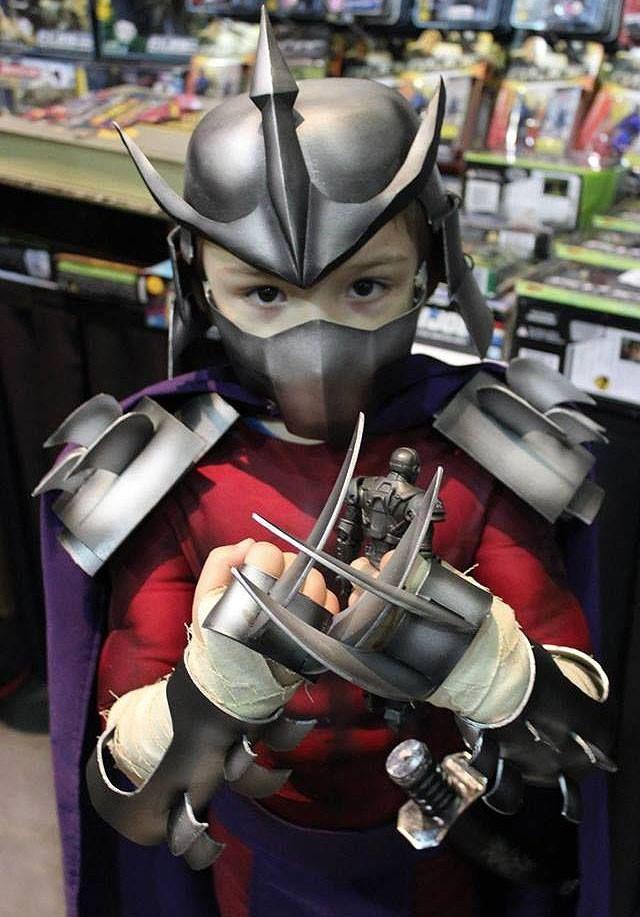 teenage mutant ninja turtles shredder kid costume - Teenage Mutant Ninja Turtles Halloween Costumes For Kids