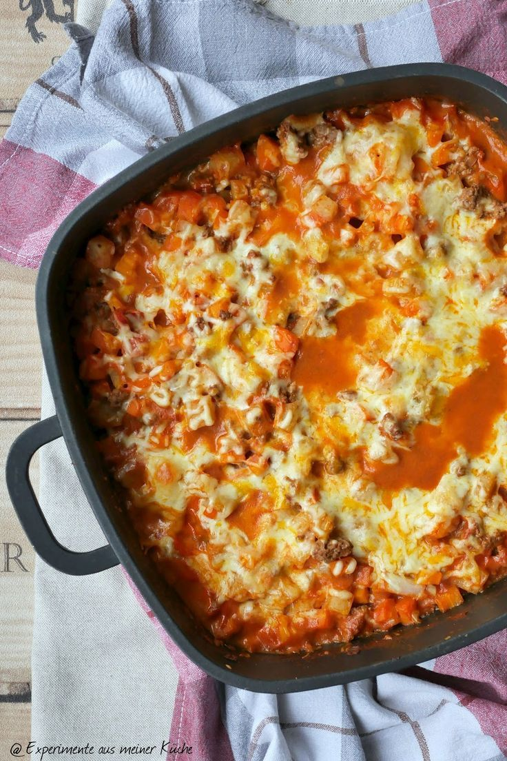 Photo of Kohlrabi and carrot gratin with minced meat
