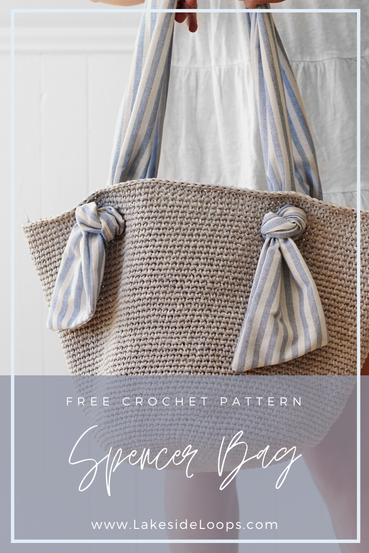 Spencer Crochet Market Bag – FREE Pattern – Lakeside Loops
