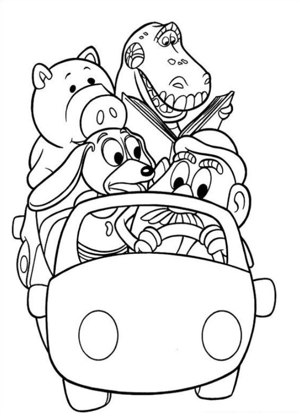 Simple Free Toy Story Coloring Pages 8211 Coloring Pictures En 2020 Toy Story Para Colorear Dibujos Toy Story Dibujos Para Colorear Disney
