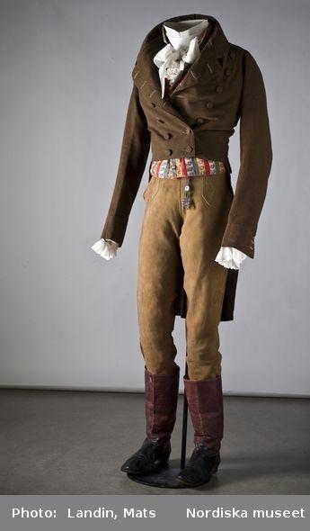 Regency Era (1800-1820) Men's Suit | Vintage Men's Fashion | Pinterest #men#39;ssuits