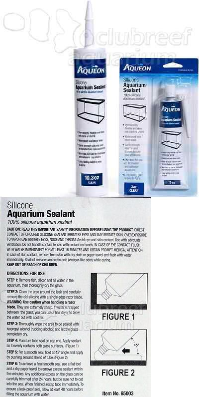 Other Fish And Aquarium Supplies 8444 Aqueon Gl 100 Silicone Sealant Reef Safe