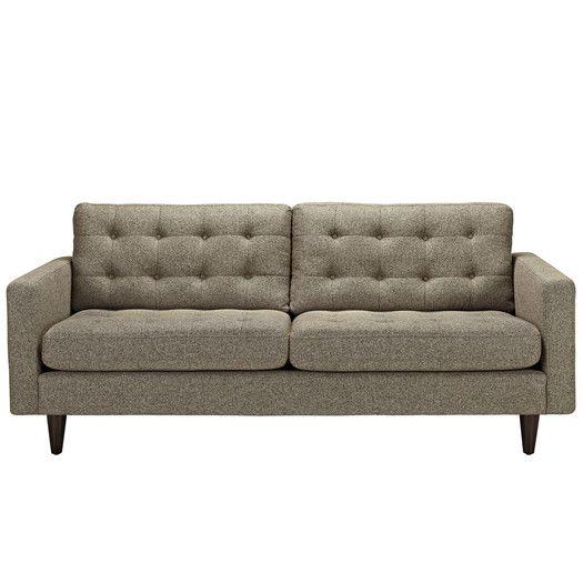 Modway Empress Sofa Allmodern Upholstered Sofa Sofa Modway