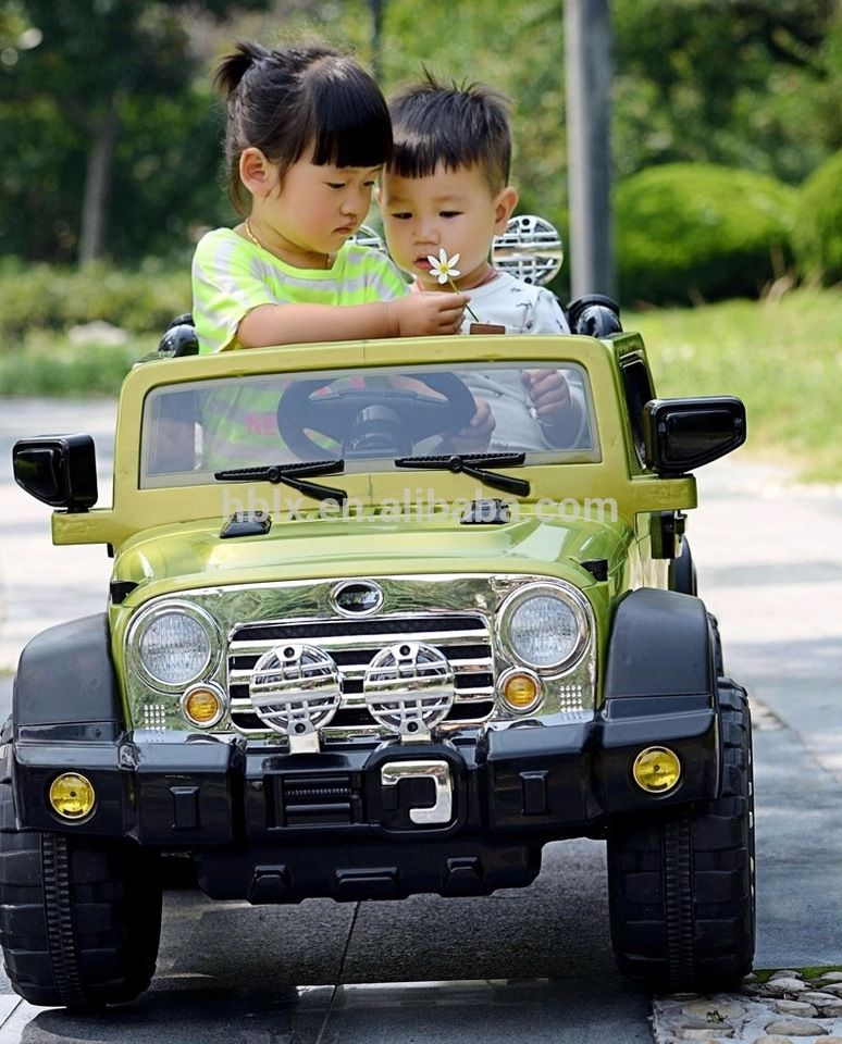 New model hotselling high quality kids jeep toys ride on