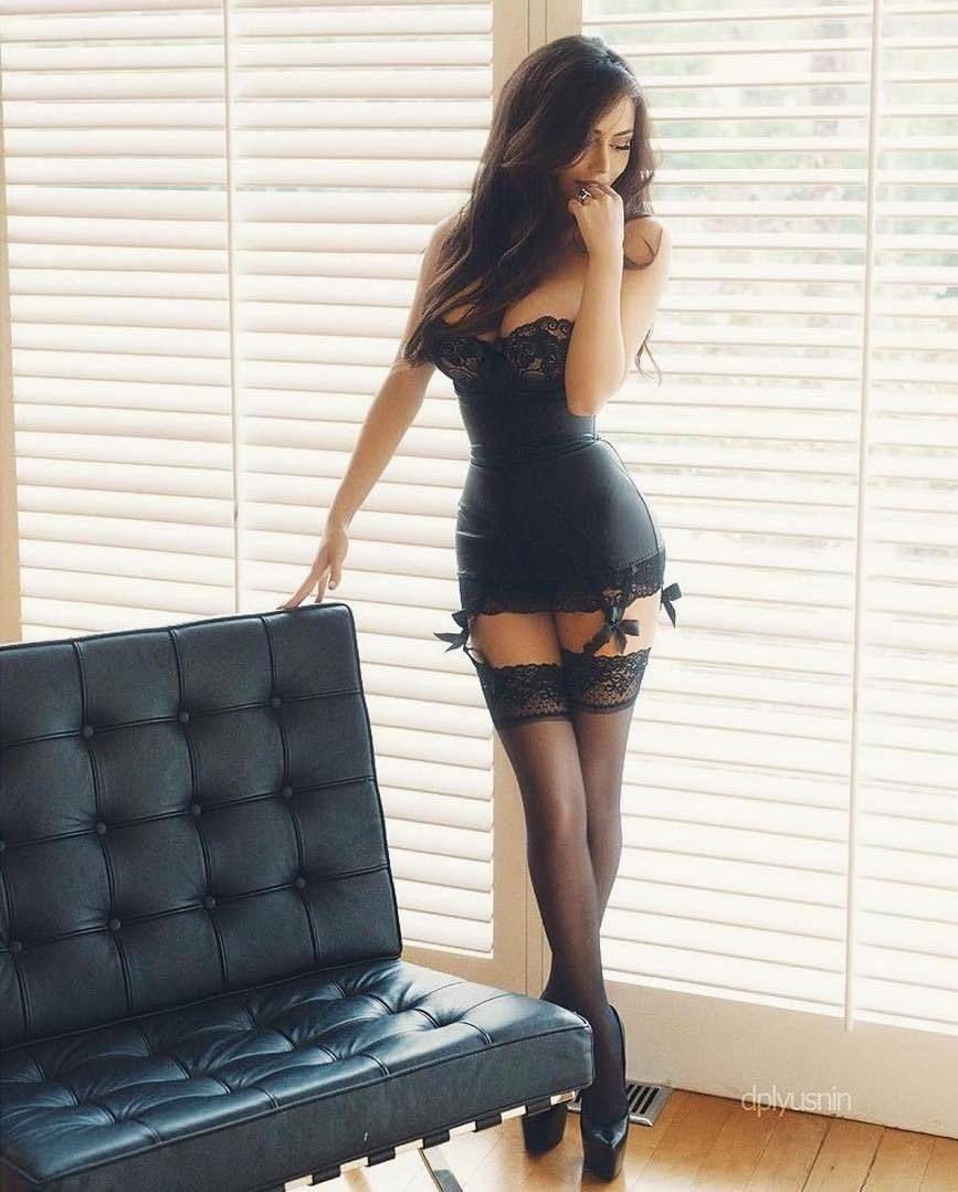 Girls in tight black dresses sexy pinterest mini dresses