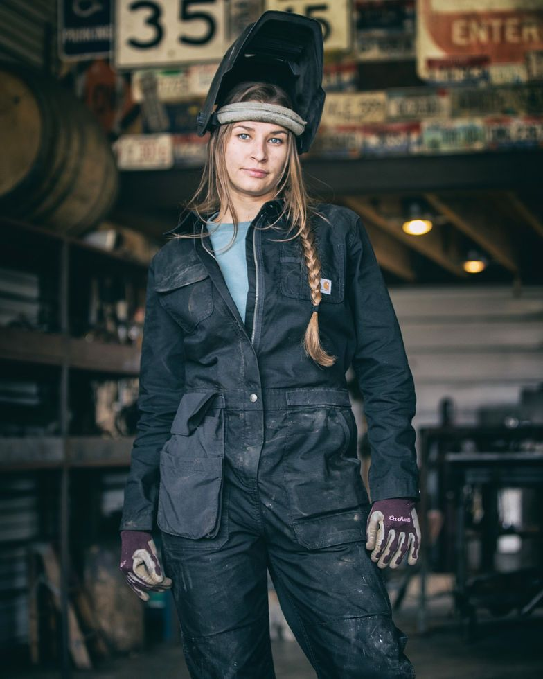 carhartt women s black smithville coveralls coveralls on work coveralls id=86135