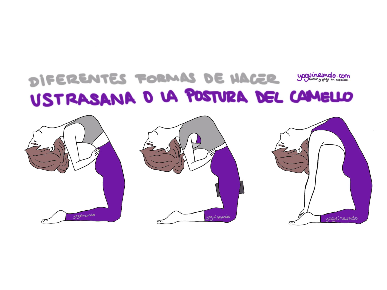 Ustrasana Technique