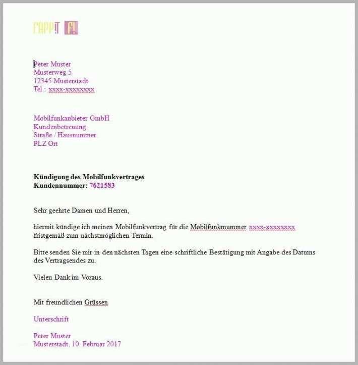 34 Schon Telekom Festnetz Kundigung Vorlage 9