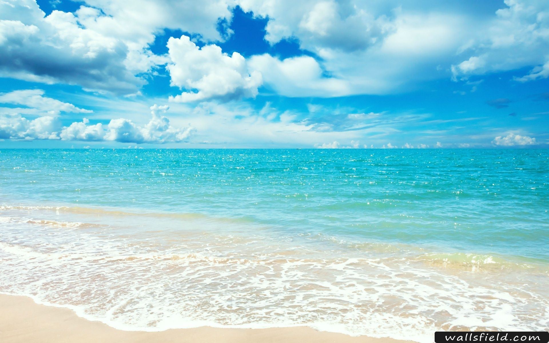 Sunny Day Wallsfield Com Free Hd Wallpapers Beach Wallpaper Ocean Wallpaper Summer Wallpaper