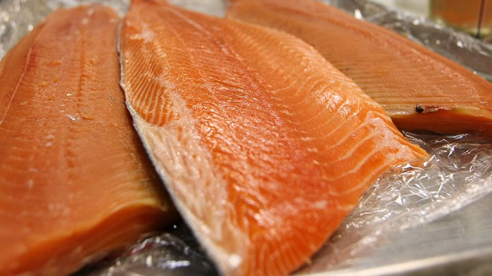 Investigative Report Are You Eating Genetically Modified Salmon Here S How To Know Salmon Nutrition Facts Food Salmon Nutrition