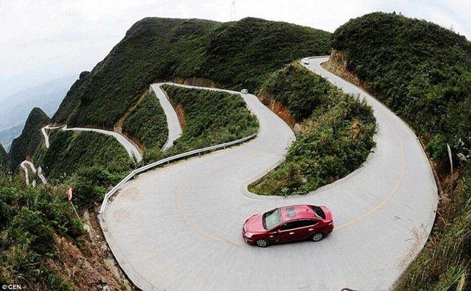Kinh nghiệm lái xe ô tô đường dài - ôm cua