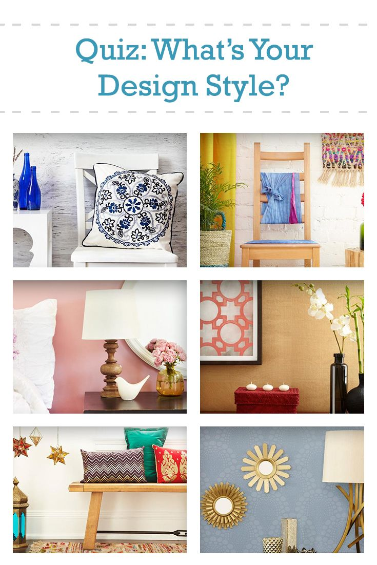 What kind of home décor best suits your personality? Take our quiz and find out! | Indoor Décor ...