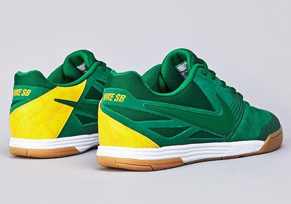 "quality design eee36 1f331 Nike SB Lunar Gato ""Brazil"""