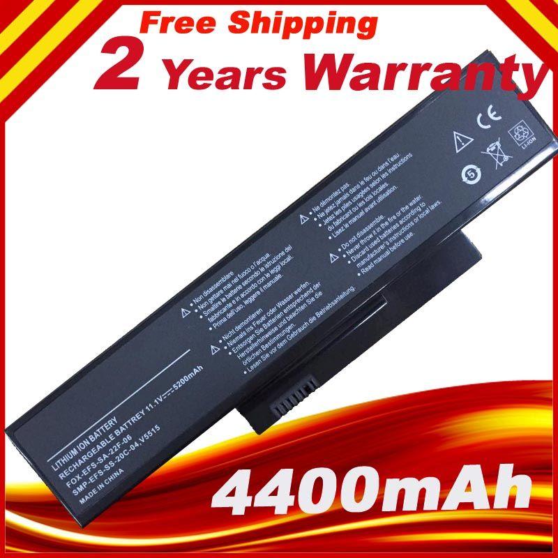 Laptop Battery For FUJITSU Esprimo Mobile V6535 V6555